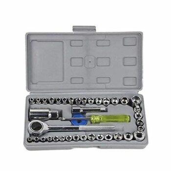 Screwdriver Tool Kit-Multipurpose 40 in 1 Screwdriver Socket Set and Bit Tool Kit Set