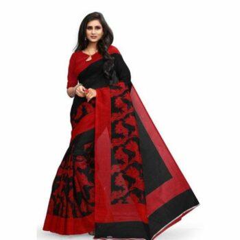 Stunning Bhagalpuri Silk Printed Saree