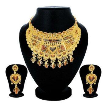 Sukkhi Ethnic Gold Plated Jewellery Set