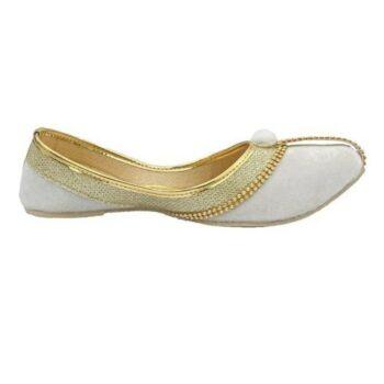 TPR Velvet Printed Flat Sandal for Women