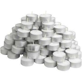 Tea Light Candles (Pack of 50)