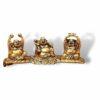 Three Laughing Buddha Set Decor - Feng Shui Showpiece