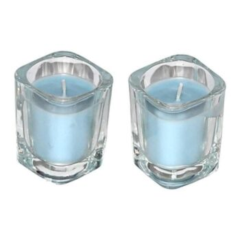 Votive Shot Glass Scented Smokeless Candles (Pack of 4)