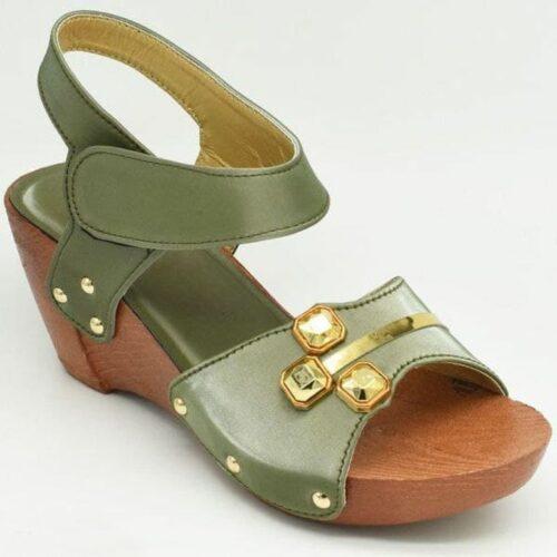 Women Applique Casual Heels