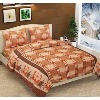 Woollen Heavy Fleece Warm Double Bedsheet